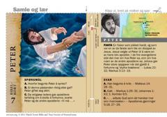 Bibelkort om Peter