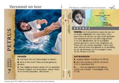 Bijbelkaart Petrus
