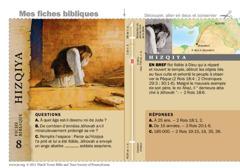 Fiche biblique: Ézéchias