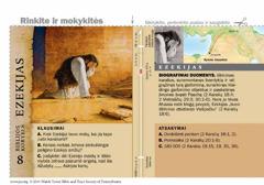 Biblijos kortelė apie Ezekiją