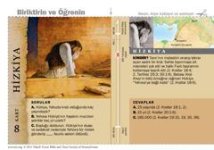 Hizkiya Kutsal Kitap kartı