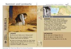 Bibelkarte Hiskia