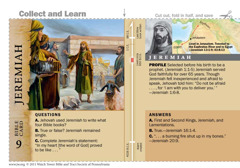 Jeremiah Bible card