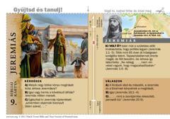 Bibliai kártya: Jeremiás