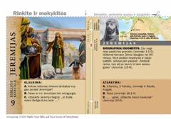 Biblijos kortelė apie Jeremiją