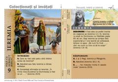 Fișă cu subiect biblic: Ieremia