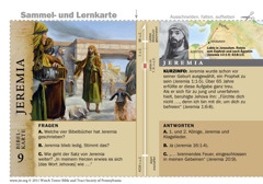 Bibelkarte Jeremia