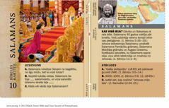 Bībeles kartīte par Salamanu