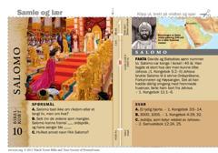 Bibelkort om Salomo