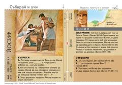 Библейска карта: Йосиф