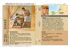 Bibelkort — Josef