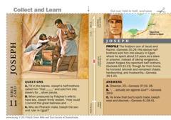 Joseph Bible card