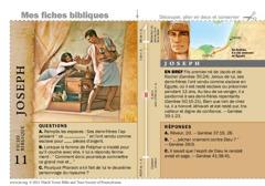 Fiche biblique: Joseph