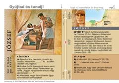 Bibliai kártya: József