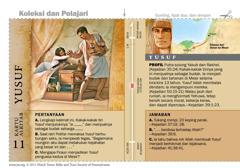Kartu Alkitab Yusuf
