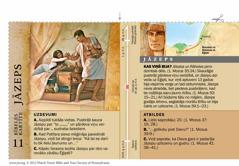 Bībeles kartīte: Jāzeps