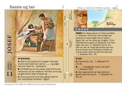 Bibelkort om Josef
