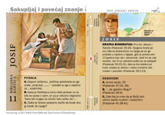 Biblijska kartica: Josif