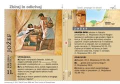 Biblijska kartica o Jožefu