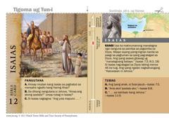 Bible card-Isaias
