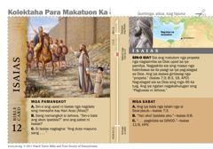 Bible card: Isaias