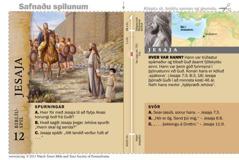 Biblíuspil með Jesaja