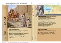 Bible card Isaias