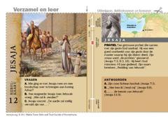 Bijbelkaart Jesaja