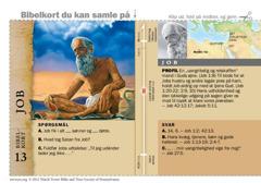 Bibelkort — Job