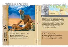 Cartão bíblico de Jó