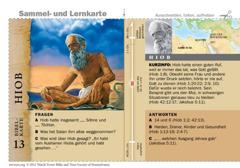 Bibelkarte Hiob