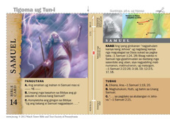 Bible card-Samuel