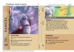Samuel Bible card