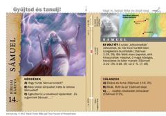 Bibliai kártya: Sámuel