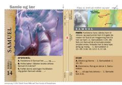 Bibelkort om Samuel