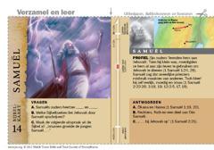 Bijbelkaart Samuël