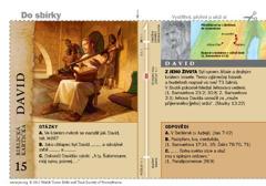 Biblická kartička – David