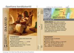 Raamattukortti: Daavid