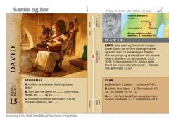 Bibelkort om David