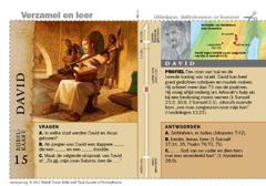 Bijbelkaart David