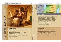 Biblijska kartica o Davidu