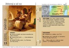 Biblická kartička– Dávid