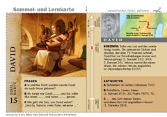 Bibelkarte David