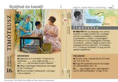 Bibliai kártya: Timóteusz