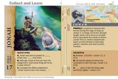 Jonah Bible card