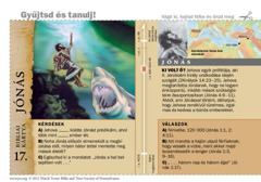 Bibliai kártya: Jónás