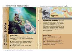 Biblijos kortelė apie Joną