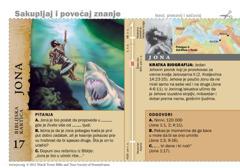 Biblijska kartica: Jona