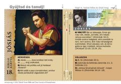 Bibliai kártya: Jósiás