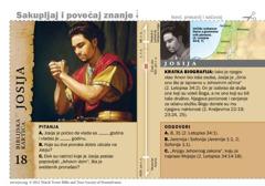 Biblijska kartica: Josija